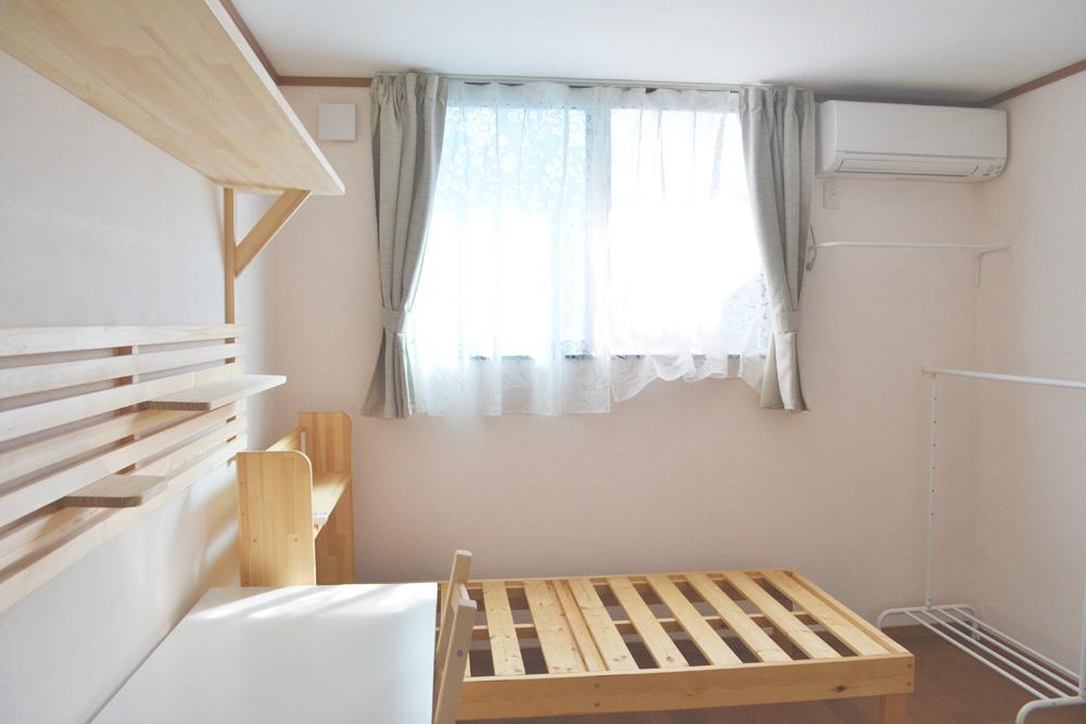 アパートのようなひとり部屋 個室
