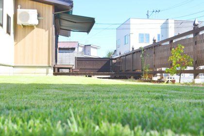 米沢女子短期大学・米沢栄養大学生 女性専用シェアハウス「ぴーちぇすハウス」お庭