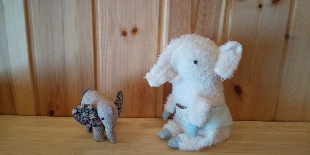 エレちゃんにゾウのお友達ができました